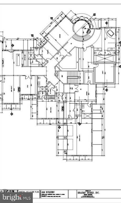 Floor Plan - Right WIng of Main Level - 9100 POTOMAC RIDGE RD, GREAT FALLS