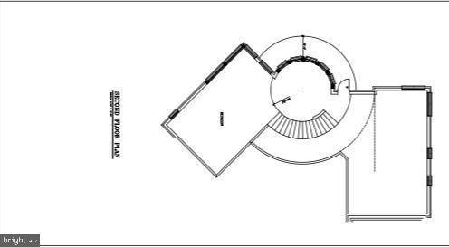 Floor Plan - Loft Area of Master Bedroom Suite - 9100 POTOMAC RIDGE RD, GREAT FALLS