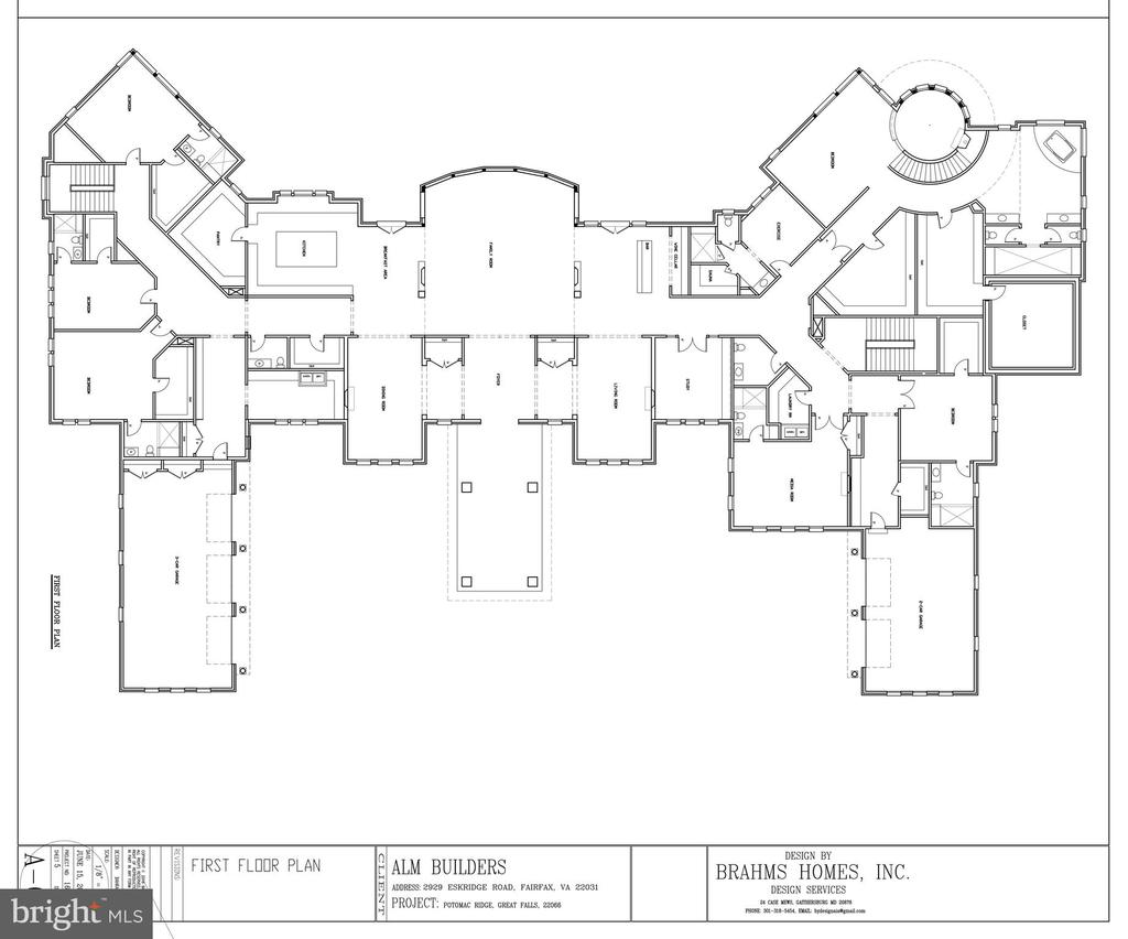 Floor Plan - Main Level - 9100 POTOMAC RIDGE RD, GREAT FALLS