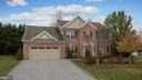 Exterior - brick front - 101 FEATHERDALE CIR, FAYETTEVILLE