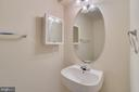 Half Bath on Main Level - 7750 MILFORD HAVEN DR #50D, LORTON