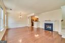 Open Main Level Living - 7750 MILFORD HAVEN DR #50D, LORTON