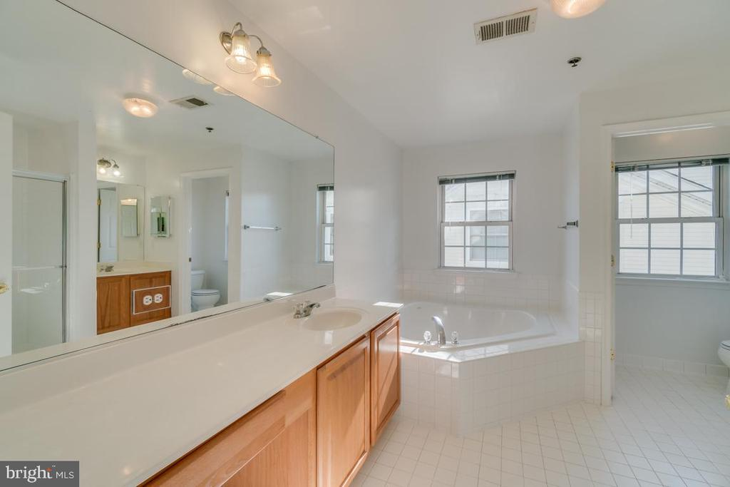 Master Bath Ensuite - 7750 MILFORD HAVEN DR #50D, LORTON