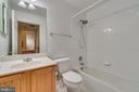 Upper Level 1 Full Bath - 7750 MILFORD HAVEN DR #50D, LORTON