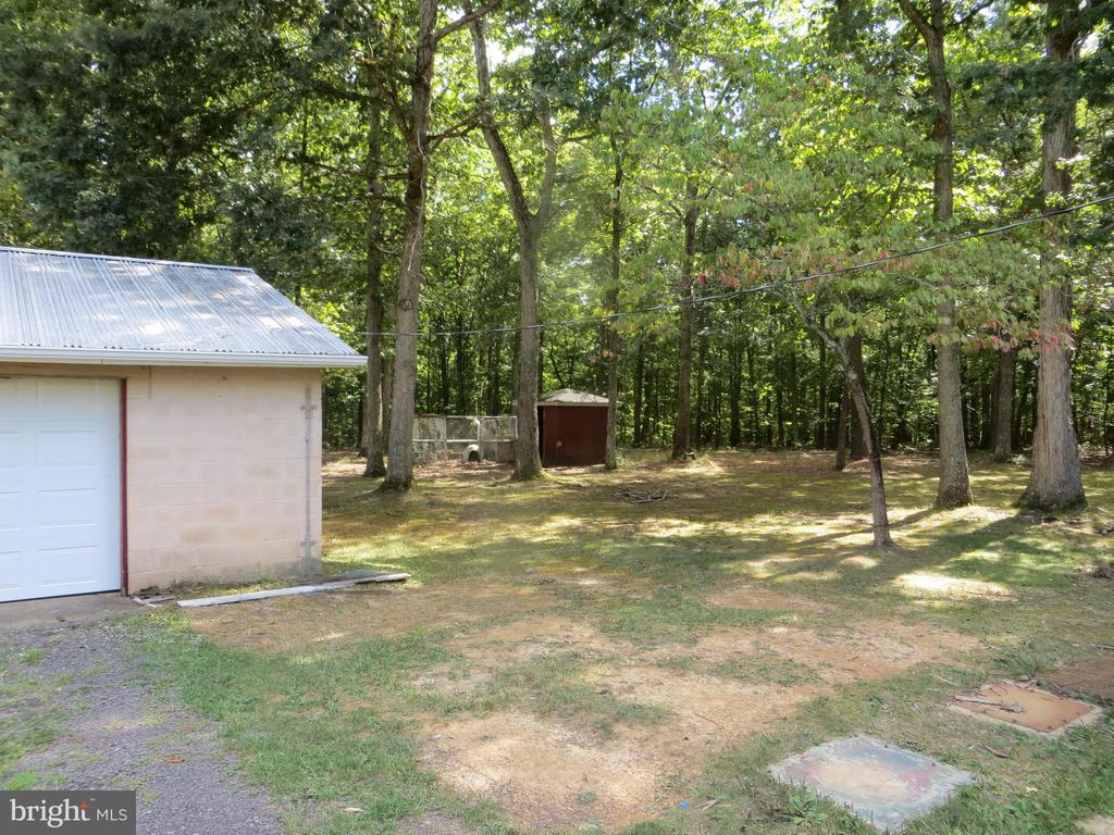 detached garage plus shed - 11516 ORANGE PLANK RD, SPOTSYLVANIA