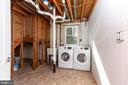 Basement - Laundry - 8928 MAURICE LN, ANNANDALE