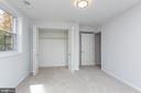 Basement bedroom - 8928 MAURICE LN, ANNANDALE