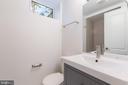 Basement full bath - 8928 MAURICE LN, ANNANDALE