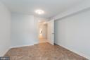 Basement storage room - 8928 MAURICE LN, ANNANDALE