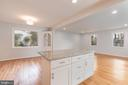 Kitchen/Dining Room/Living Room - 8928 MAURICE LN, ANNANDALE