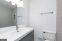 Hallway full bath - 8928 MAURICE LN, ANNANDALE