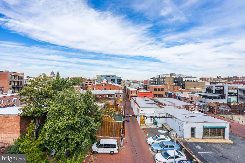 View of Blagden Alley - 925 M ST NW #2, WASHINGTON