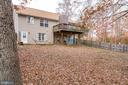 Fully fenced in backyard - 35486 WILDERNESS SHORES WAY, LOCUST GROVE