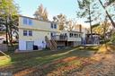 Nice level yard and walk out from Rec Room - 9924 MANET RD, BURKE
