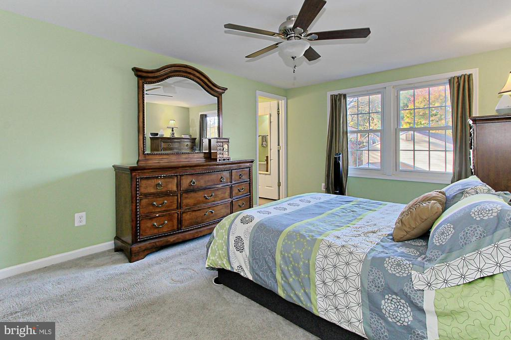 Spacious Master BR on back side of house - 9924 MANET RD, BURKE