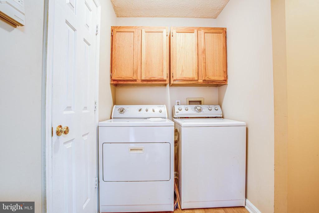 Laundry Room on Main Level - 12705 PELHAM DR, SPOTSYLVANIA