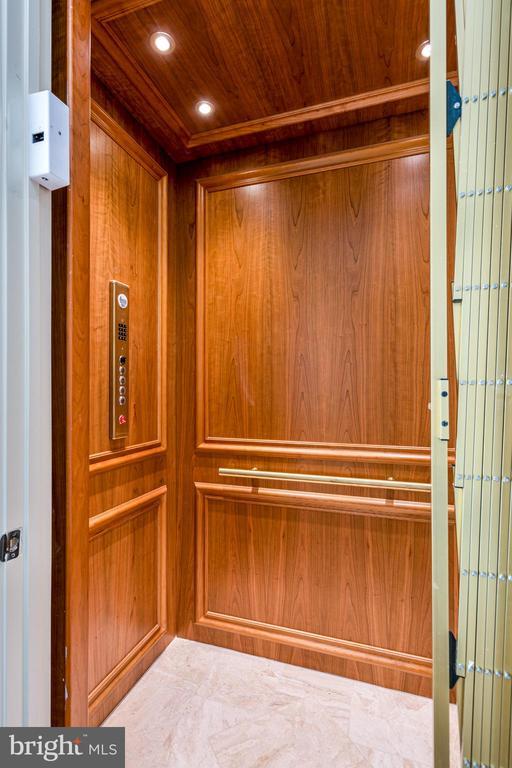 Elevator accessing all three levels. - 11643 BLUE RIDGE LN, GREAT FALLS