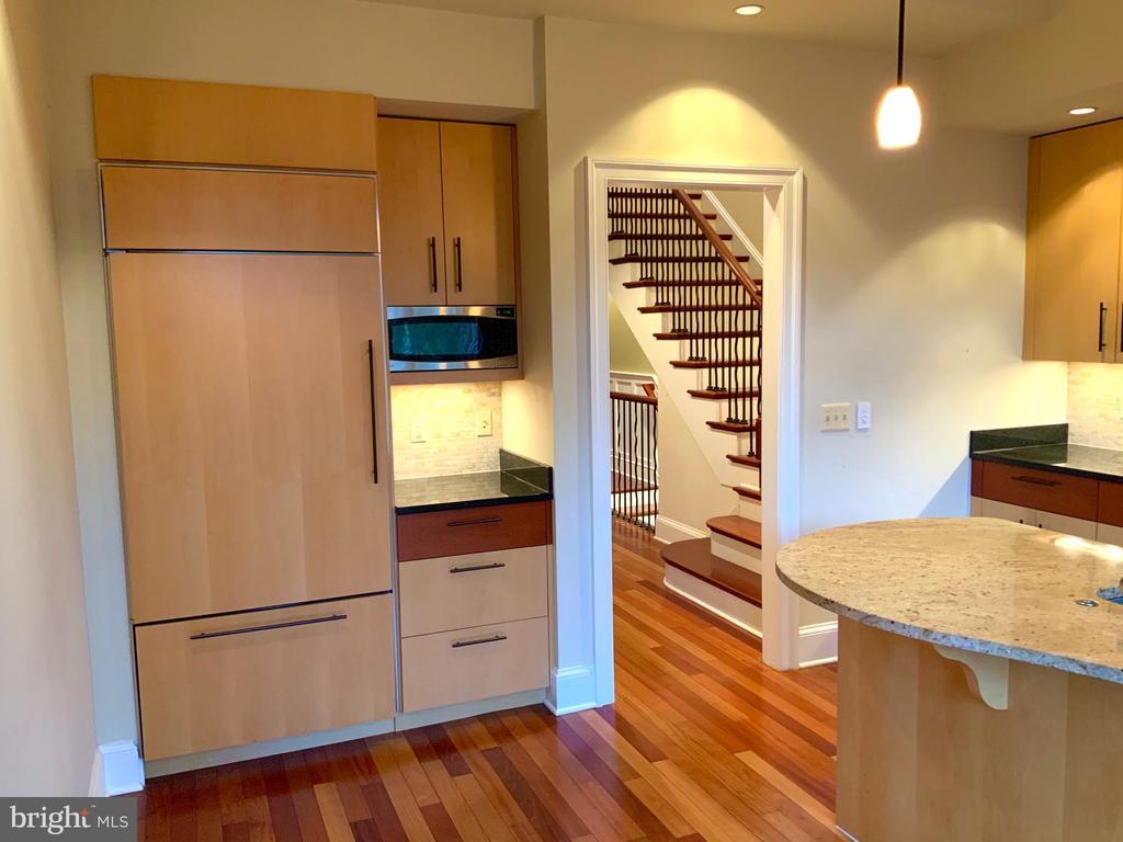 Subzero Refrigerator  & Microwave - 1324 FAIRMONT ST NW #B, WASHINGTON