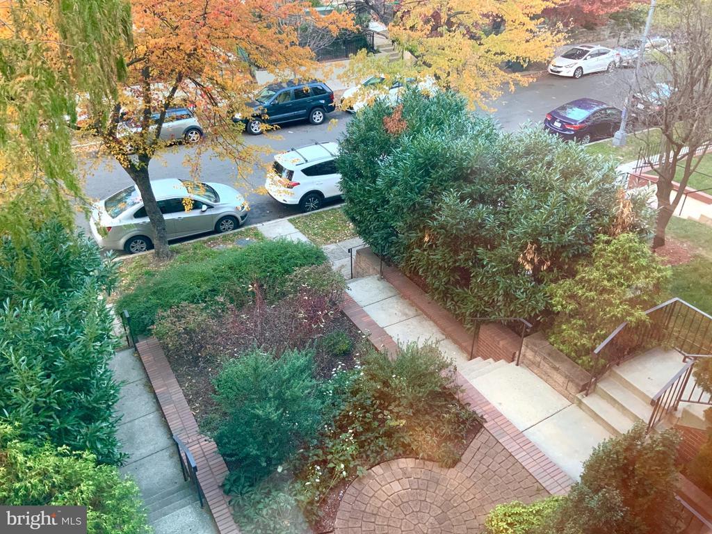 Kitchen Window View - North Elevation - 1324 FAIRMONT ST NW #B, WASHINGTON