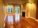 Open Floor Plan Living & Dining Area - 1324 FAIRMONT ST NW #B, WASHINGTON
