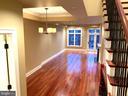 Brazilian Cherry Hardwood Floors - 1324 FAIRMONT ST NW #B, WASHINGTON
