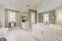 Master Bath - 3113 ALBEMARLE ST NW, WASHINGTON