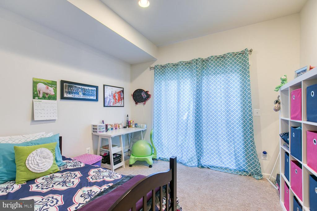Bump-out in basement used as a bedroom - 104 GERMANNA WAY #12, STAFFORD