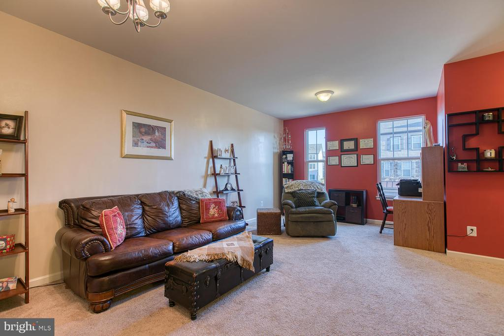 Middle level/ family room - 104 GERMANNA WAY #12, STAFFORD