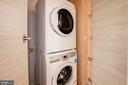 Full-Size Stackable Washer 7 Dryer - 1550 11TH ST NW #303, WASHINGTON