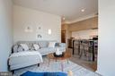 Luminous and Open Floor Plan - 1550 11TH ST NW #303, WASHINGTON