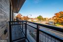 Balcony with Eastern Exposure Overlooking Parks - 1550 11TH ST NW #303, WASHINGTON