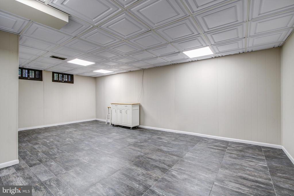 Lower level family/rec room. - 6017 ELMENDORF DR, SUITLAND