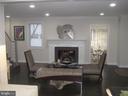 Living room with Fireplace - 1438 MONTANA AVE NE, WASHINGTON