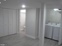Basement with full bath and laundry room - 1438 MONTANA AVE NE, WASHINGTON