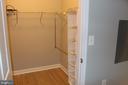 walk in closet - 42496 MAYFLOWER TER #101, BRAMBLETON
