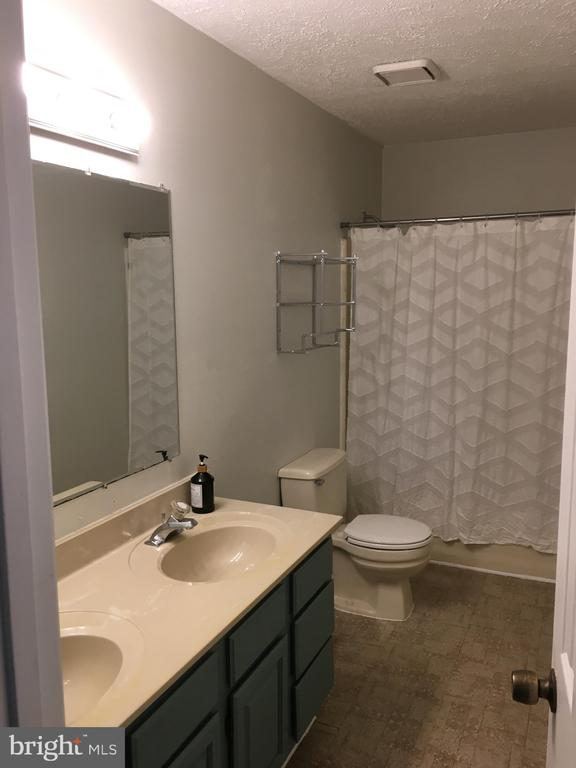 Master Bath with tub shower and double vanity!! - 108 INDIAN HILLS RD, LOCUST GROVE