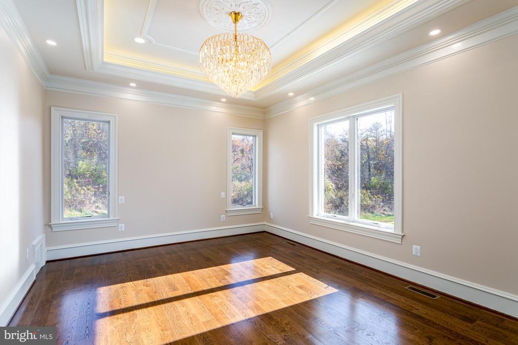 Main level bedroom with en-suite. - 11643 BLUE RIDGE LN, GREAT FALLS