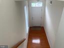 main entrance - 5640 HARTFIELD AVE, SUITLAND