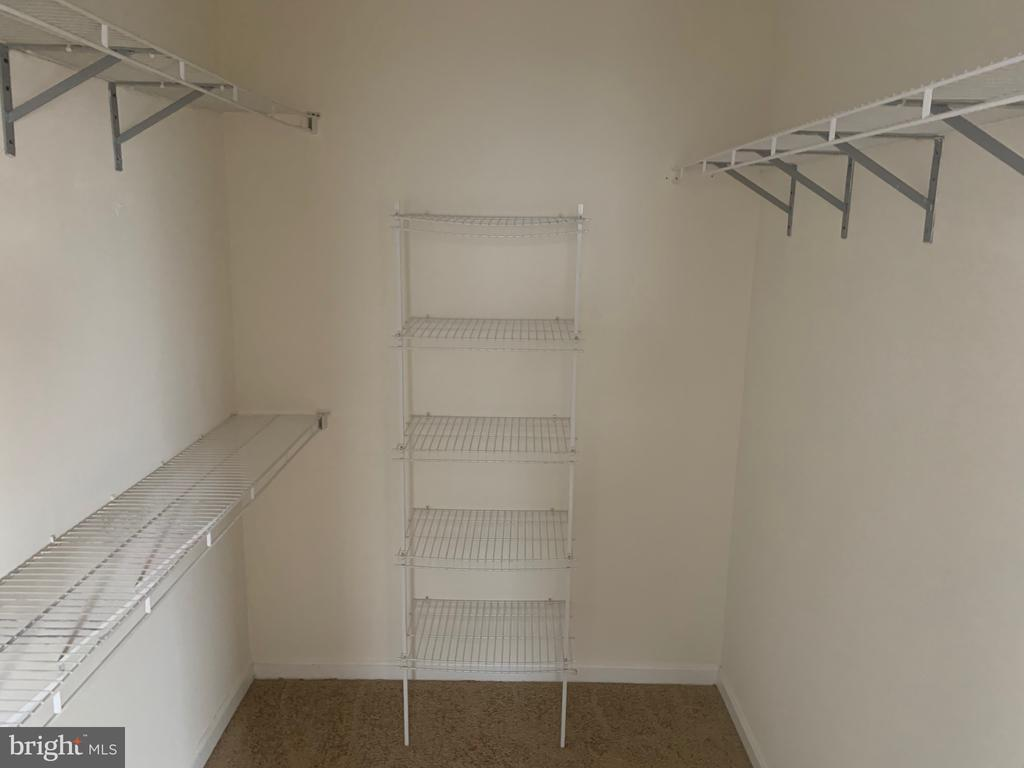 master closet - 5640 HARTFIELD AVE, SUITLAND