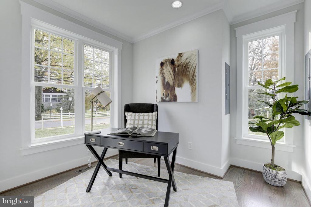 Office/Library - 3521 CUMMINGS LN, CHEVY CHASE