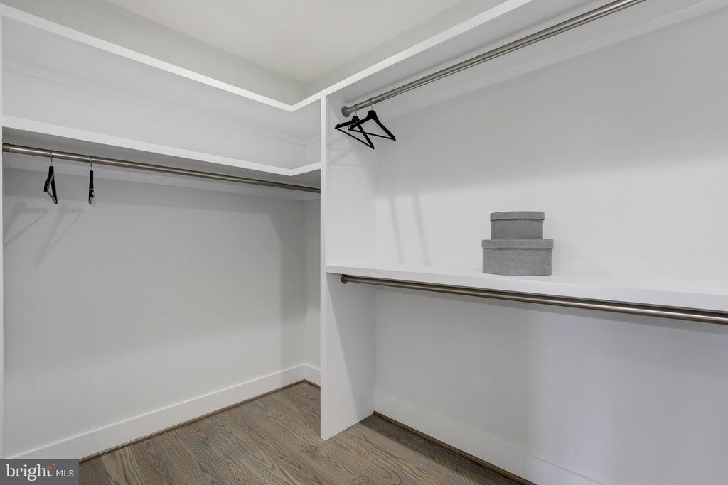 Master Closet - 3521 CUMMINGS LN, CHEVY CHASE