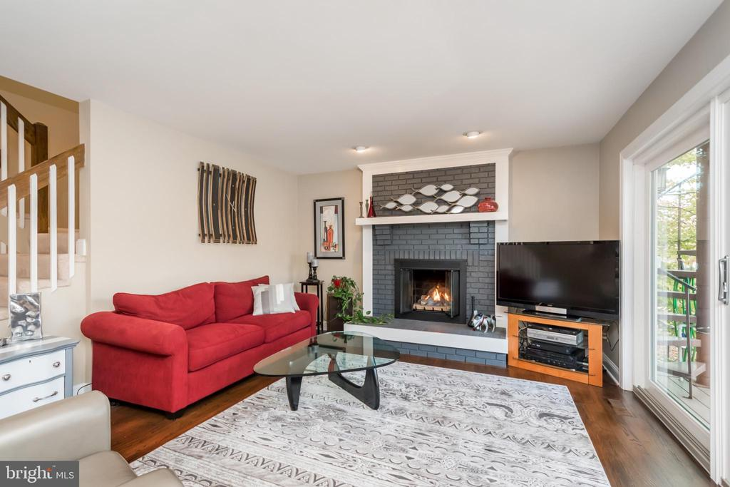 Enjoy a cozy fire and lake views - 416 WILDERNESS DR, LOCUST GROVE