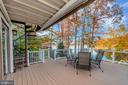 Spectacular deck from which to take in the views - 416 WILDERNESS DR, LOCUST GROVE