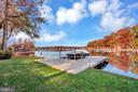 U shaped dock with boat lift - 416 WILDERNESS DR, LOCUST GROVE