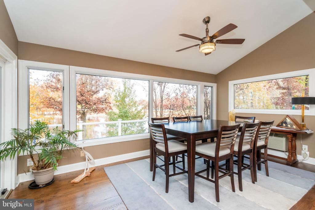 Expansive dining area with views galore - 416 WILDERNESS DR, LOCUST GROVE
