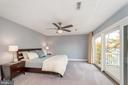 Expansive master bedroom with amazing views - 416 WILDERNESS DR, LOCUST GROVE