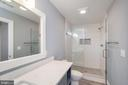 Luxurious  shower in which to begin the day - 416 WILDERNESS DR, LOCUST GROVE