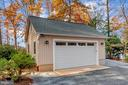 2nd detached two car garage for toys/cars/storage - 416 WILDERNESS DR, LOCUST GROVE