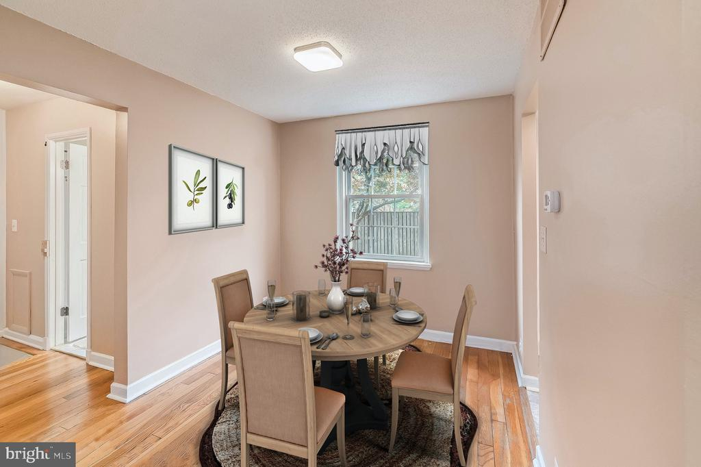 Eat-in Dining Room - 4118 36TH ST S #A1, ARLINGTON