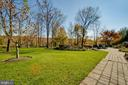 Lush landscaping - 17066 WINNING COLORS PL, LEESBURG